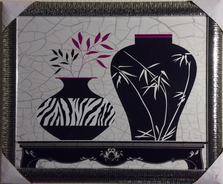 Чёрно-белые вазы 2