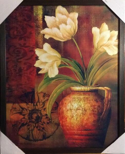 Цветы в кувшине 1