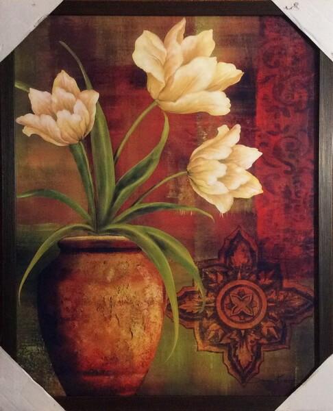Цветы в кувшине 2