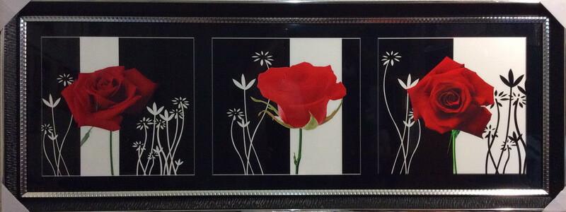Роза трио
